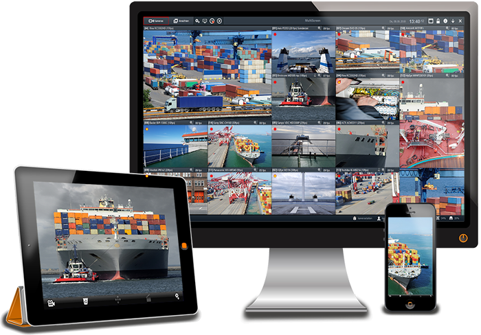 MULTIEYE Next Video Management System. Customer-specific solutions. Ensures high security.